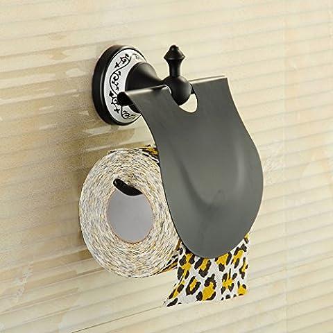 Die Erntesaison Badezimmer Tissue Box European Style Toilettenpapier Kupfer Papier Handtuchhalter Antique Tissue Box Bad Anhänger