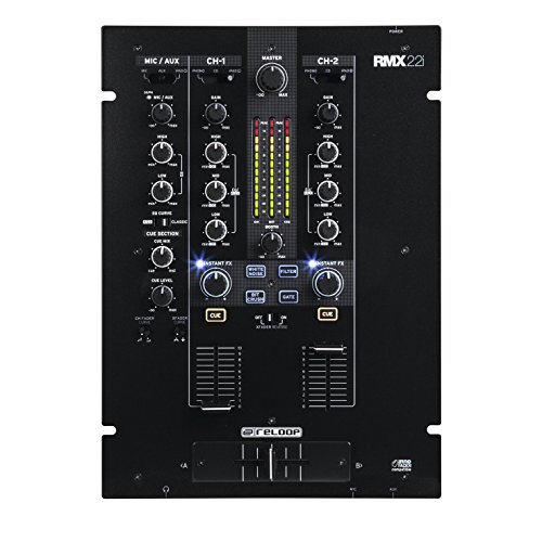 Reloop RMX-22i 3channels 20 - 20000Hz - Audio Mixers (3 channels, 20 - 20000 Hz, 3.5 mm/6.35 mm, 254 mm, 355 mm, 104 mm)
