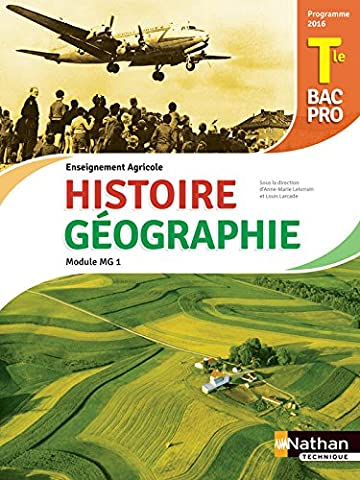 Histoire et Géographie Tle Bac pro Agricole