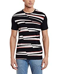 United Colors of Benetton Mens T-Shirt (8903975214828_16A3C96J3114I_XXL_Black-100)