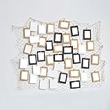 Unbekannt Global- 1 Fischnetz Foto Wand ins dekorative Wand hängenden Gitter einfach modern für Wohnzimmer/mit Bildern (Stoff : Twine)
