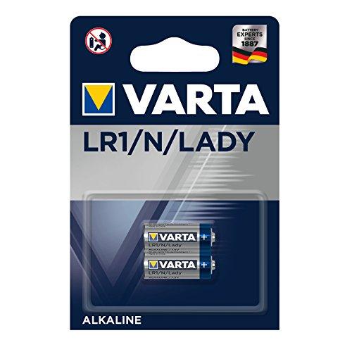 Varta Electronics Lady/LR1 Akku, 2er Bli