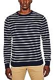ESPRIT Herren Pullover 997EE2I804, Blau (Navy 400), Large