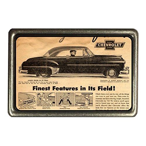 cadora-cinturon-hebilla-buckle-vintage-retro-publicidad-auto-car-chevrolet-pantalla-periodico