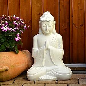 Buddha Deko Weiß | Deine-Wohnideen.de