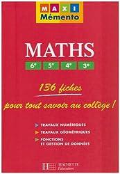 Maths 6e, 5e, 4e, 3e