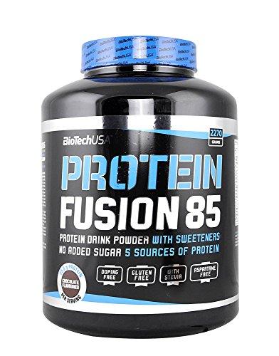 BiotechUSA Protein Fusion 85 Schokolade 2270g (4.5 Fusion)