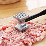 [Free Shipping] Aluminium Double Side Meat Steak Tenderizer Hammer Kitchen Pounder Tool BML® Brand // Herramienta de libras de la cocina