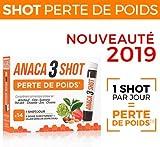 Anaca - Anaca3 Shot Perte de Poids - Prendre 1 shot par jour au moment d'un repas - Boite de 14 Shots