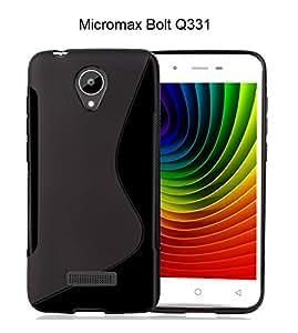 Micromax Bolt Q331 S Line Soft Gel TPU Anti-skid Back Case Cover