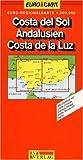 RV Euro-Regionalkarte 1:300 000 Costa del Sol - Andalusien - Costa de la Luz - RV Verlag