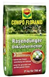 COMPO FLORANID® Rasendünger m. Unkrautvernichter 21kg