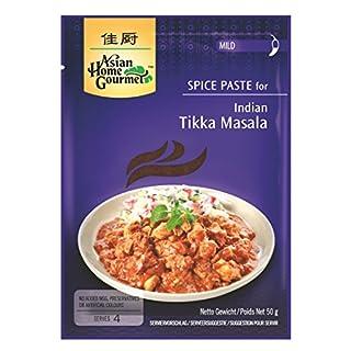 AHG Tikka Masala Asian Home Gourmet Spice Paste, 50 g, Pack of 12