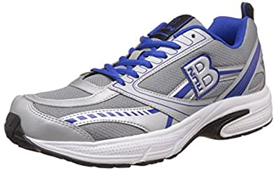 United Colors of Benetton Men's Brun 902 - Blue and Silver Running Shoes - 11 UK/India (45 EU)
