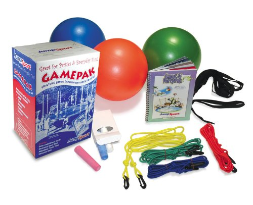 JumpSport Trampoline Game and Party Pak