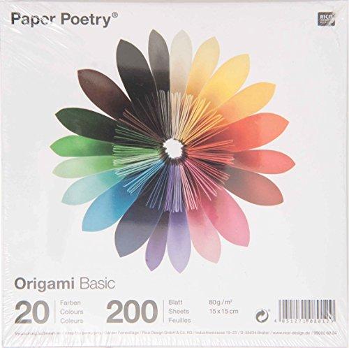 Foto de Rico Design - Papel para hacer papiroflexia, multicolor
