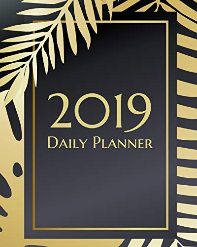 Drei Von Kostüm Familie - 2019 Daily Planner: An elegant black and gold textured calendar to keep mom, dad or students focused on tasks, prioriites and goals. (Elegant Black Planners, Band 3)