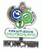 Fussball WM 2006 - München - Schriftzug - Pin