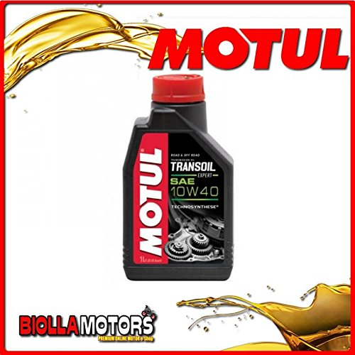 MOTUL44 - FLACONE 1 LITRO OLIO MOTUL TRANSOIL EXPERT 2T 2 - STROKE GEARBOX OIL SAE 10W40 (PER INGRANAGGI)