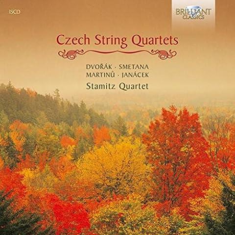Czech String Quartets: Dvorak; Smetana; Janacek; Martinu