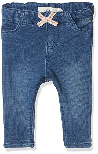 NAME IT Baby-Jungen Jeans Nbfthea Dnmbarbel 2009 Legging Noos, Blau (Medium Blue Denim), 74