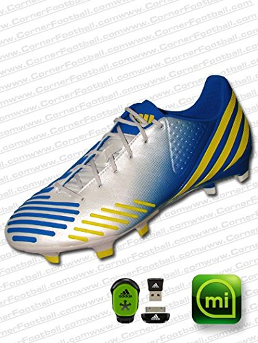 a9326f73f Articles de football Adidas Messi F10 TRX FG Firm Ground Football miCoach  compatible Chaussures infrarouge