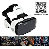 OYOVR 3D VR Virtual Reality Universalle Brille Box für Handy Virtuelle Realität Headset für iPhone 6S 6Plus 5S, HTC One M, LG, Sony, Alle 4.0-6.2 Zoll Handys für 3D-Filme Video