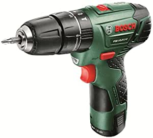 Bosch PSB LI-2 Cordless 10.8 V Lithium-Ion Hammer Drill Driver with Battery