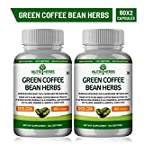 Nutriherbs Pure Green Coffee Bean Extract 50% GCA 800MG 60 Capsules 100% Natural