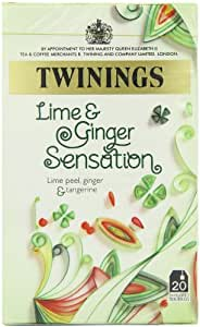 Twinings Lime and Ginger Sensation (Pack of 4)