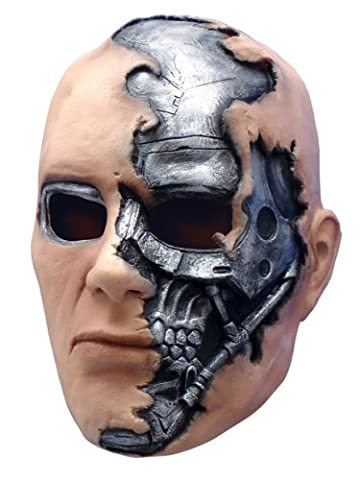 Terminator Salvation Movie Child's T600 Vinyl Mask