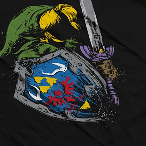 Zelda Hyrule Warrior Men's Vest Black