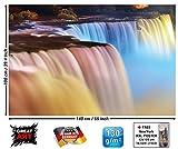 GREAT ART Cascate del Niagara Niagara Wasserfall Quadro da pareteby (140 x 100 cm)