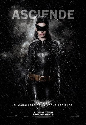 The Dark Knight Rises - Catwoman - Mexican Movie Wall Poster Print - 43cm x 61cm / 17 Inches x 24 Inches A2 Batman (Die Rises Catwoman, Auf The Dark Knight)