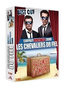Les Chevaliers du Fiel - Coffret - Vacances d'enfer + Le best ouf
