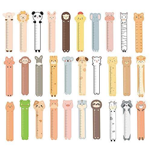 Graziosi segnalibri con animali, per bambini e ragazzi, 30 pezzi
