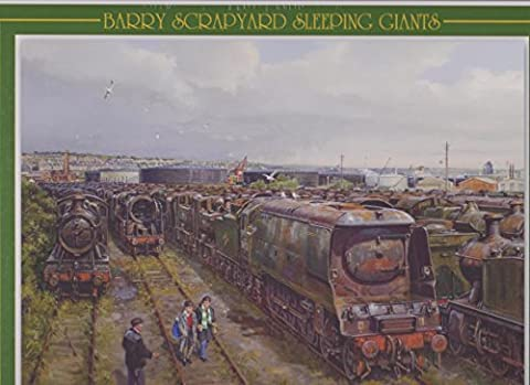 Barry Scrapyard, Sleeping Giants - Jigsaw Puzzle (1000 piece) Dai Woodham's Yard, Barry, South