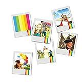 Polaroid Sofortbild Kühlschrankmagnete für deine eigenen Bilder im 8er Set