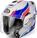 Airoh - casco moto airoh modulare rev revolution gloss - care2a - xs