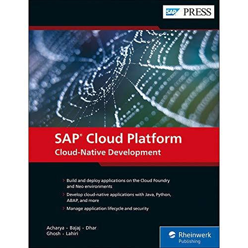 Cloud-Native App Dev w/SAP Cloud