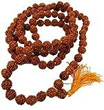 Rudraksha Mart 100% Original rudraksha Mala in 108+1 beads (6 MM)