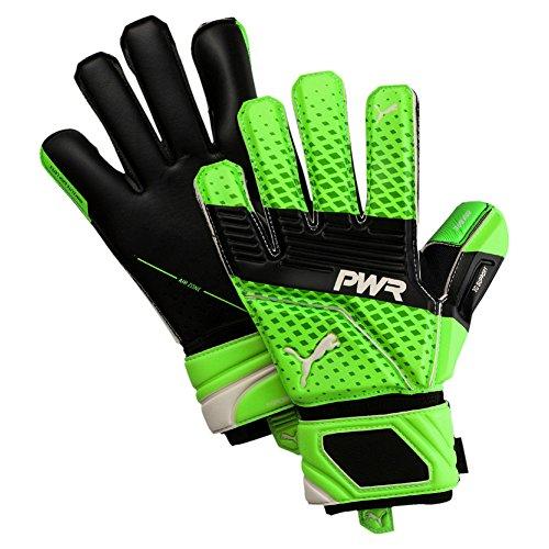 Puma Guanti da portiere evoPOWER Super 3, Green Gecko-Puma Black-Puma White, 10