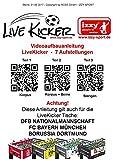 """Live Kicker 49018B Tischfußball Kicker """"Heimspiel"""" FC Bayern München - 7"""