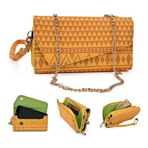 Kroo Pochette/étui pour téléphone Urban Style Tribal pour Protection d'écran/M2/Gionee Elife S7 Multicolore - jaune Multicolore - jaune