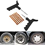 #9: Autofy Tubeless Tyre Puncture Repair Kit with 5 Strips for All Cars with Tubeless Tyre (Black and Brown)