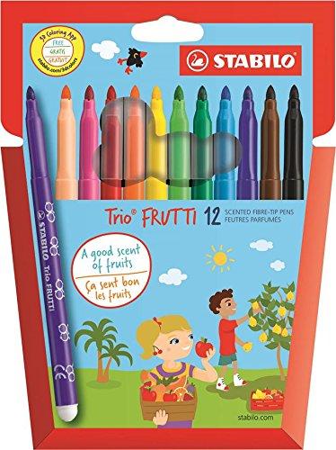 290/12-01 - Stabilo Aroma Filzstifte, Packung mit 12