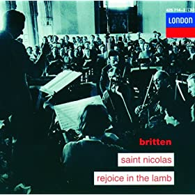 """Britten: Rejoice in the Lamb, Op.30 - """"For the Mouse Is a Creature Of Great Personal Valour"""""""