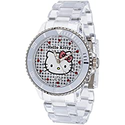 Hello Kitty Girl's Watch Nichinan Transparant HK1464-040