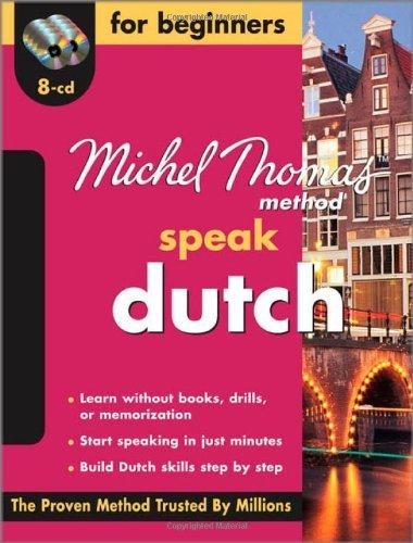Michel Thomas Method:Speak Dutch 1st by Adkins-de Jong, Cobie, Van Geyte, Els (2009) Audio CD