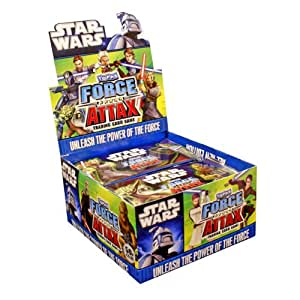 Topps TO90310 - Star Wars Force Attax Serie 2, 50 Booster im Display